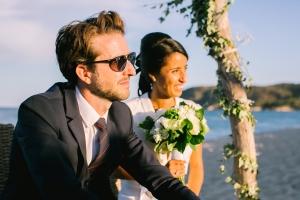 photographe mariage saint tropez photo ceremonie laique plage