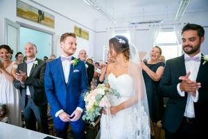 photographe mariage à marseille, photo cérémonie civile pour les mariages