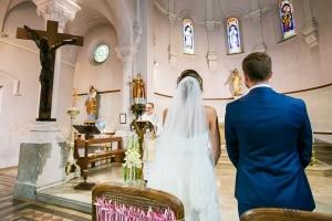 photographe de mariage marseille, photo de cérémonie religieuse à l'église