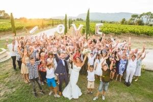 photographe mariage à marseille, photo de groupe