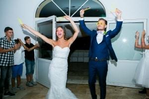 photographe de mariage à marseille, photo de l'entrée des mariés