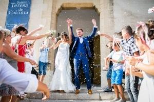 photographe mariage marseille photo sortie église 047