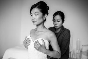 photographe mariage le castellet photo robe mariee provence