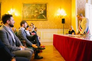 photographe mariage marseille photos mairie provence