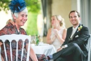photographe de mariage anglais en provence, photo repas