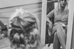 photographe mariages anglais en provence, photos coiffure mariée