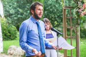 photographe pour mariage anglais, provence, photo cérémonie laïque
