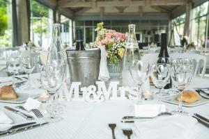 photographe de mariage anglais en provence, photo décoration salle