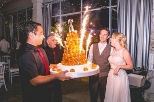 photographe de mariages anglais en provence, photo soirée