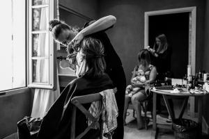 photographe mariage gordes luberon preparatifs mariee