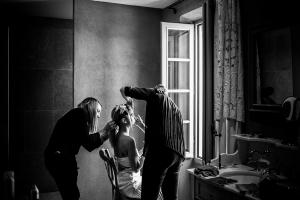 photographe mariages luberon photos make up mariee
