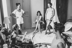 photographe de mariage, coiffure mariée, saint rémy de provence