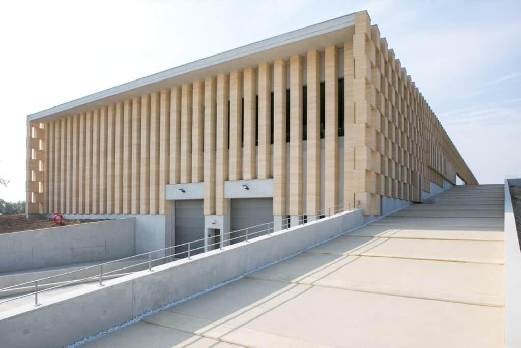 photographe pour l'architecture à Toulon, photo construction pour les domaines viticoles Varois