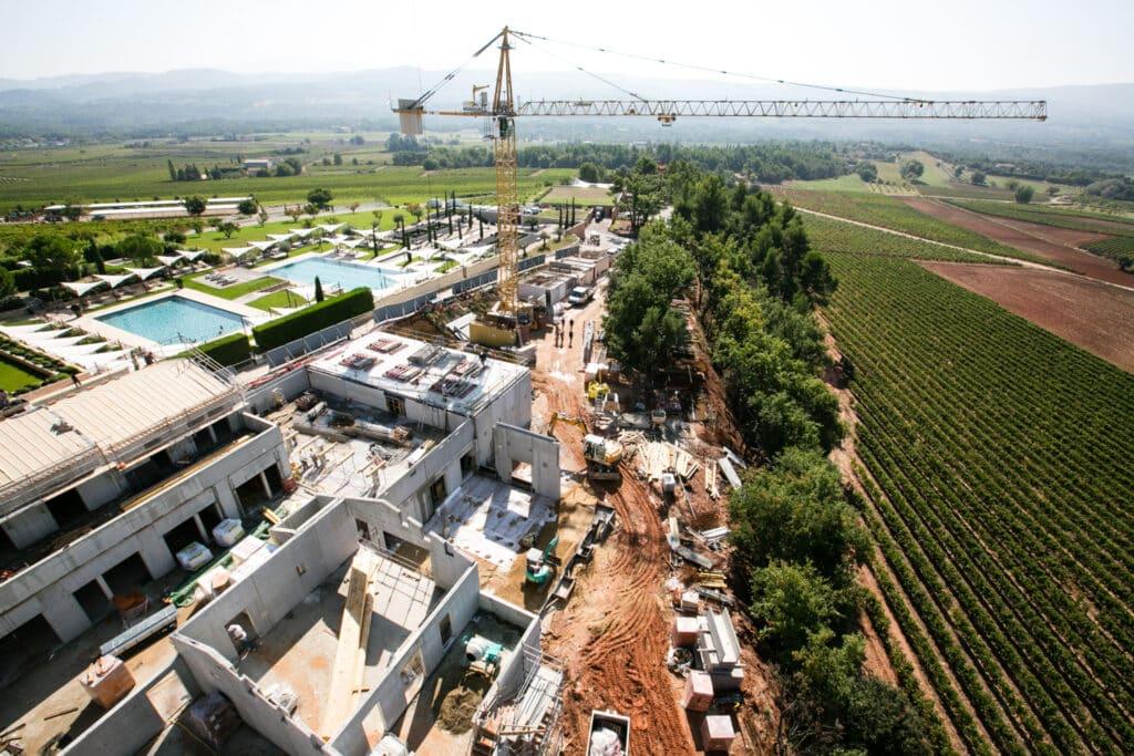 photographe de construction à avignon, photo de suivi de chantier, de btp dans le lubéron et le vaucluse