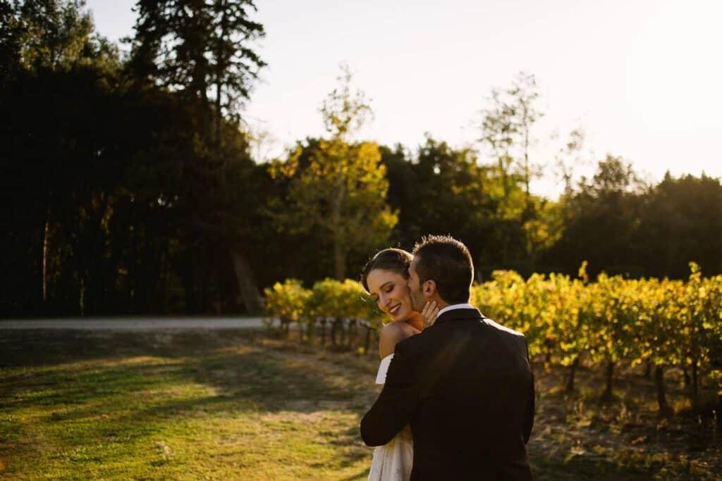 Photographe de mariage au château Val Joanis à Pertuis