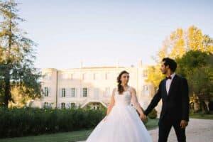 Photographe de mariage au château d'Estoublon