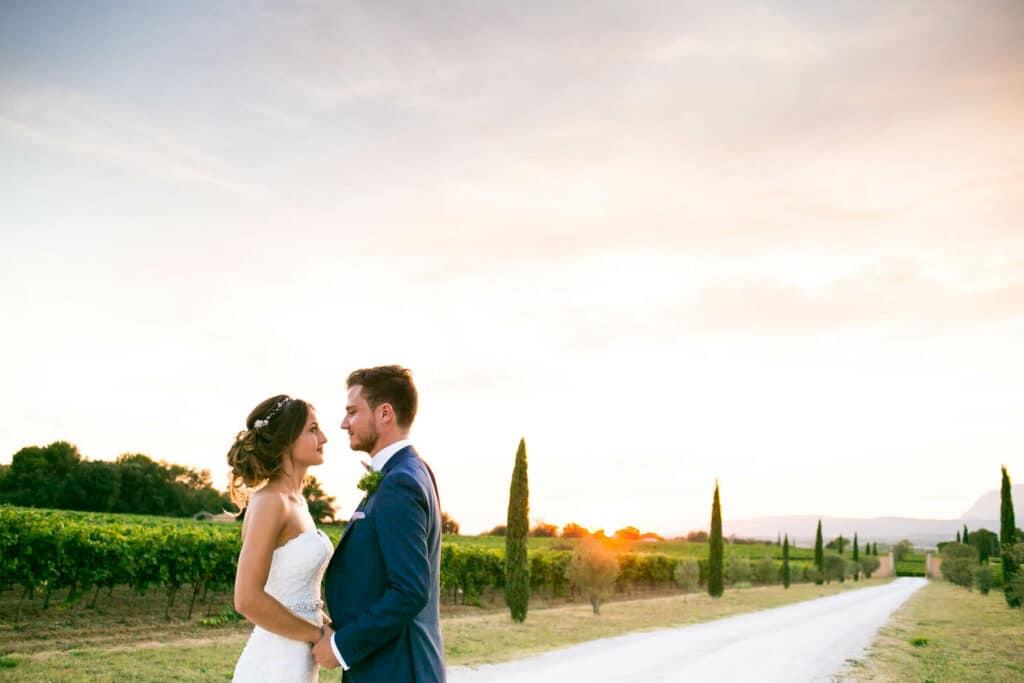 Photographe de mariage au Mas des Auréliens