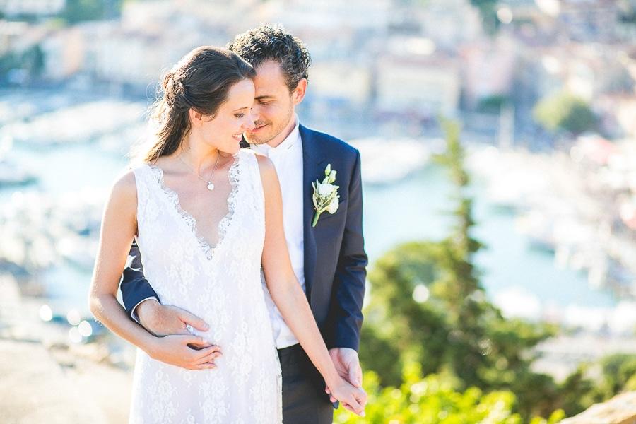 Photographe de mariage à Cassis en Provence