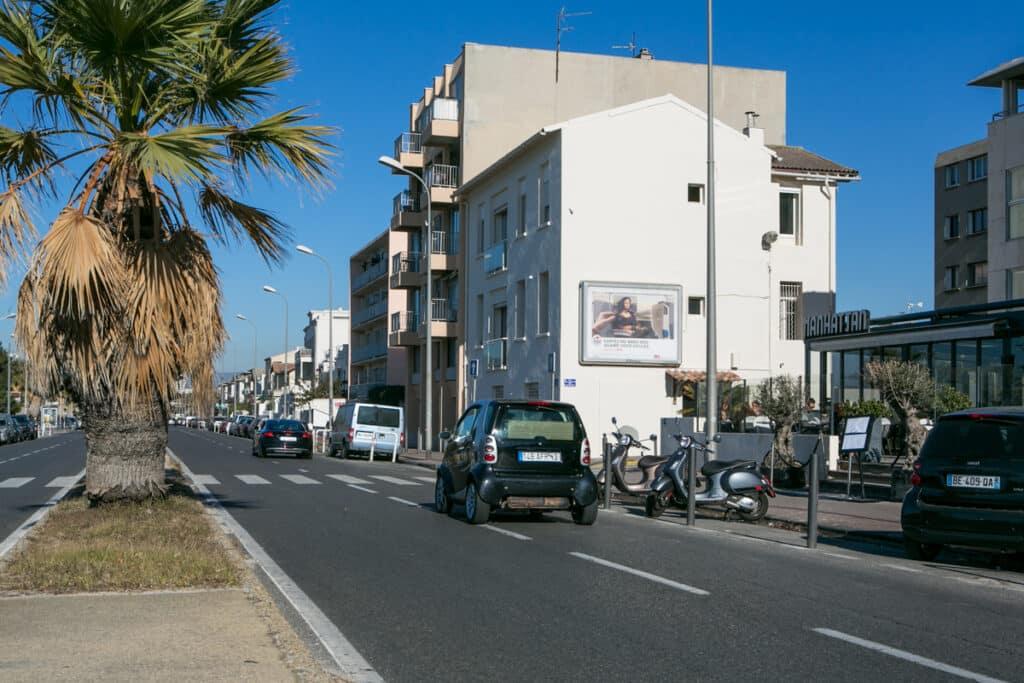 Photographe publicité mobilier urbain à Marseille