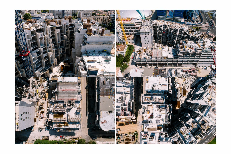 reportage photo vidéo suivi de chantier Marseille
