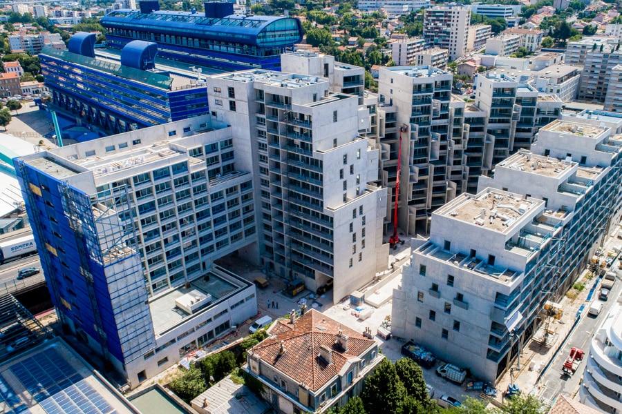 Colas Declercq | vidéo timelapse suivi de chantier Marseille